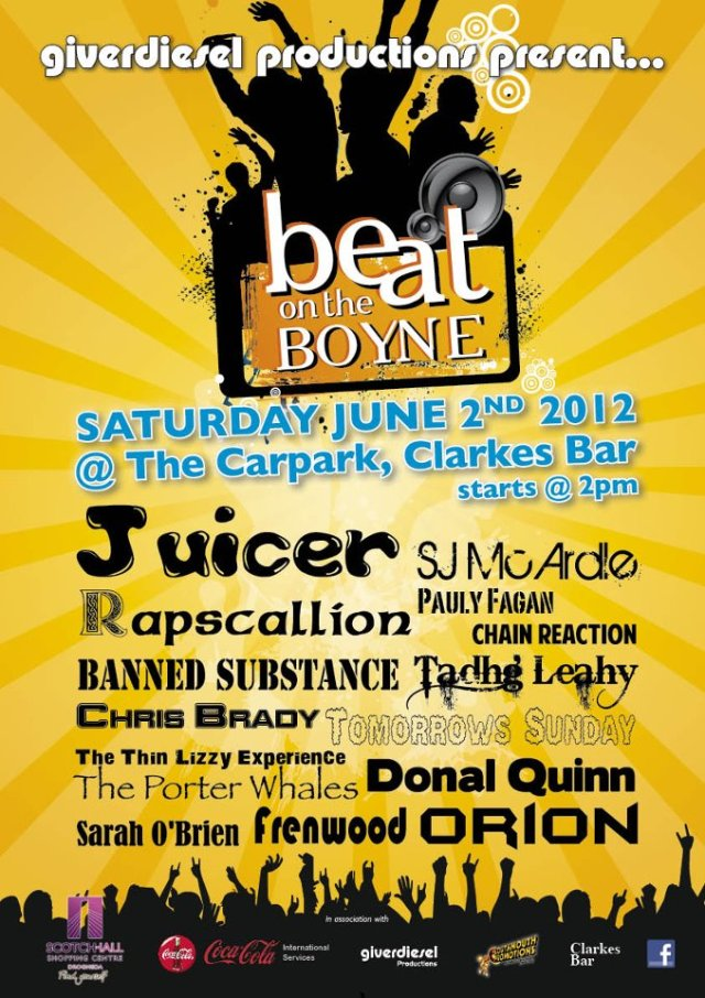 Beat On The Boyne 2012